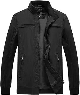 Piumino Uomo ASHOP Lungo Cappotto Giacca Outwear Cappotti Invernali Eleganti da di Alta Moda Atmosferica Calda A Maniche Lunghe Blu XXXXXX-Large ASHOP1023L81009509BUL6