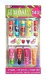 Taste Beauty Go Bananas Fruit Lip Balm Value Set (5 Lip Balms, 4 Lip Glosses and Puffy Sticker Sheet)