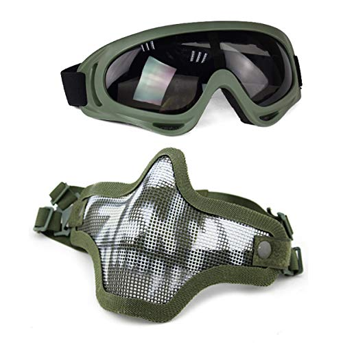 Collection Here High Quality Hunting Tactical Paintball Goggles Eyewear Steel Wire Mesh Airsoft Net Glasses Shock Resistance Eye Game Protector Attractive And Durable Hiking Eyewears Back To Search Resultssports & Entertainment