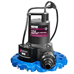 1. WAYNE WAPC250 1/4 HP Automatic ON/OFF Water Removal Pool Cover Pump