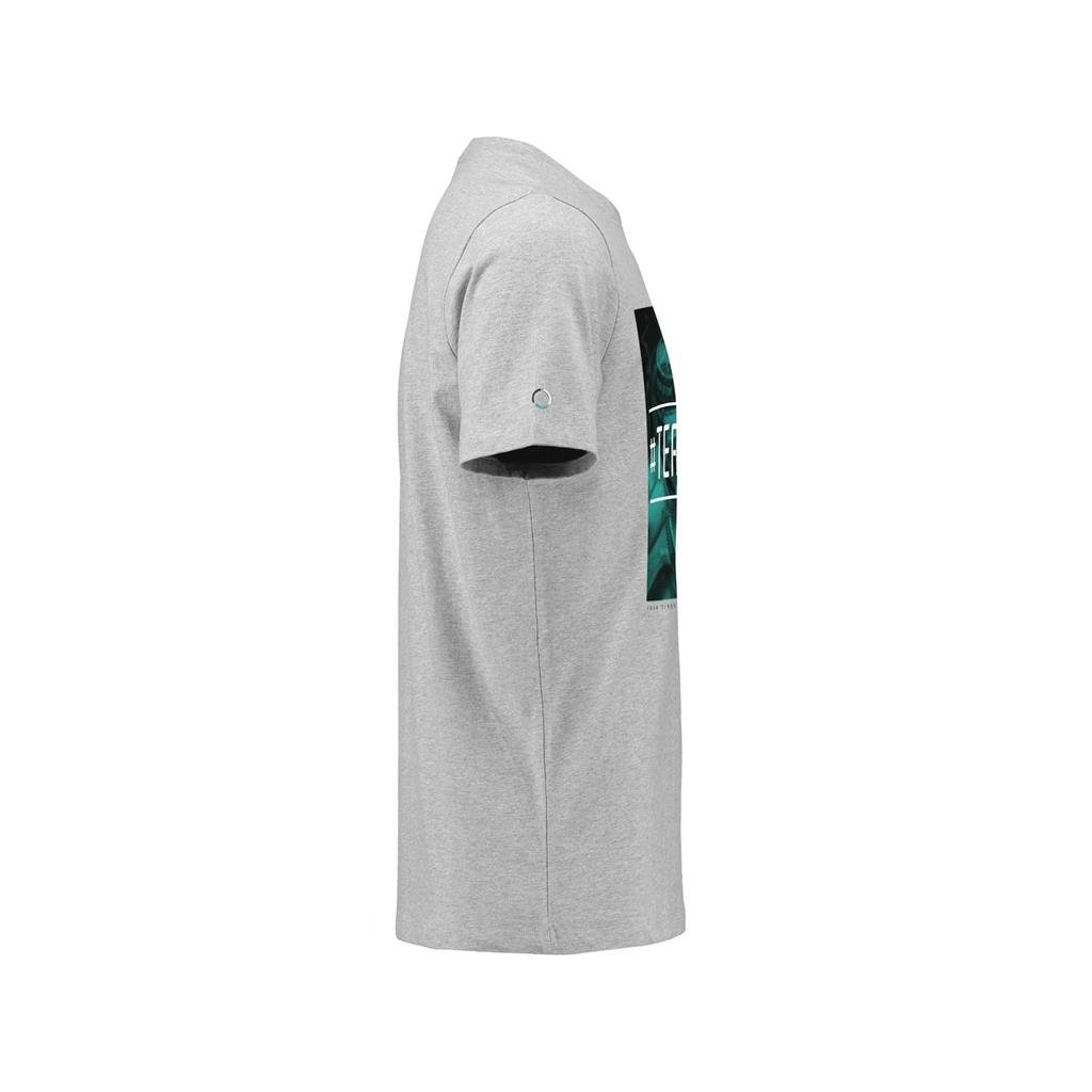 Mercedes Benz AMG Petronas Formula 1 Lewis Hamilton #TeamLH Gray T-Shirt
