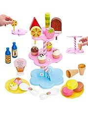 Buyger Kinderspeelgoed Ijsjes Speelgoed Rollenspel Spellen Winkel Speelgoed Cadeauset voor Kinderen Meisje 3 Jaar