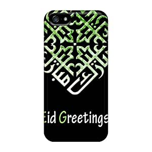 5/5s Scratch-proof Protection Cases Covers For Iphone/ Hot Eid Greetings Phone Cases