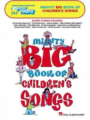 The Big Book of Nursery Rhymes /& Children/'s Songs E-Z Play Today Easy Piano Book