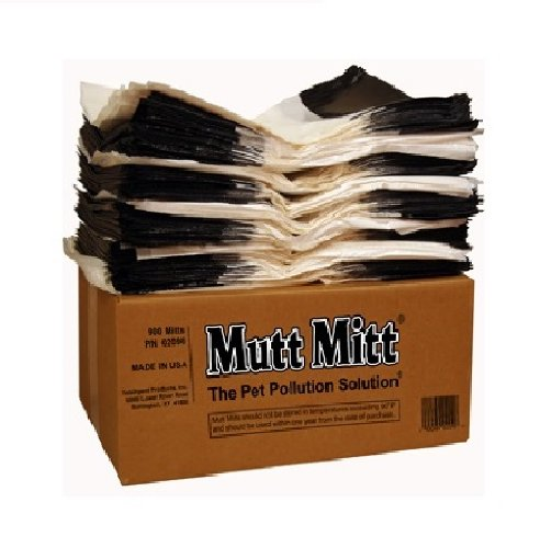 Mutt Mitt Dog Waste/Poop Pick Up Bag, 900-Count by Mutt Mitt