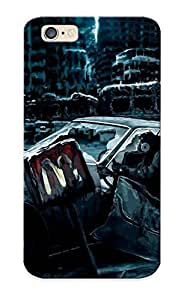 Flyingangela CgYZK0CtOBp Protective Case For Iphone 6(apocalyptic Cars Artwork Mc Donalds ) - Nice Gift For Lovers