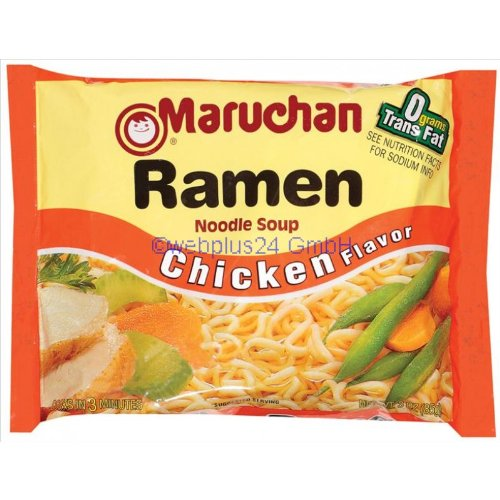 Maruchan Chicken Flavor Ramen Noodle Soup 3 oz