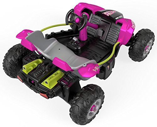 Pink Power Wheels Tractor : Power wheels dune racer pixelated pink kids cars