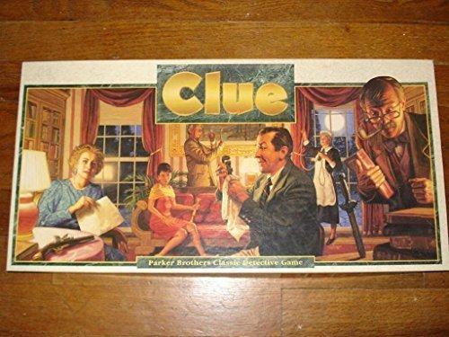 Clue Board Game: 1992 Version (1992 Classic Game)