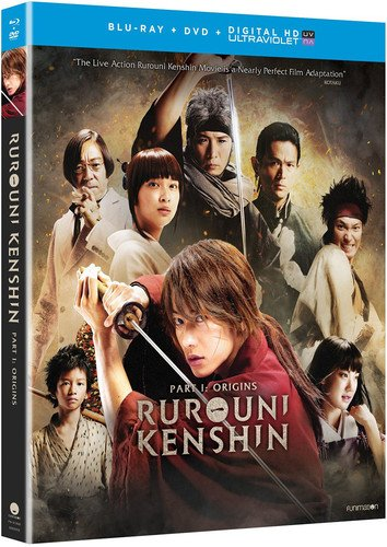 Rurouni Kenshin Part I: Origins (Blu-ray/DVD Combo + UV)