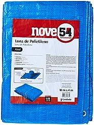 Lona De Polietileno Azul 10 M X 4 M Nove54 Nove 54