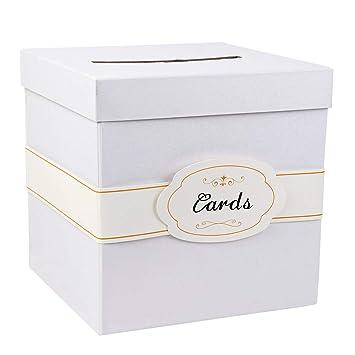 Amazon.com: Aparty4u - Caja de regalo con etiqueta de ...