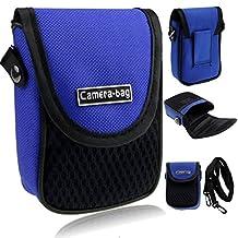LUPO Universal Compact Digital Camera Case Bag (Fits Canon Sony Samsung Fuji Kodak Panasonic Olympus Nikon - Internal Size 100 x 65 x 30mm)