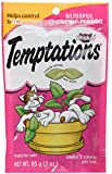 TEMPTATIONS Classic Treats for Cats Blissful Catnip Flavor 3 Ounces(Pack of 3)