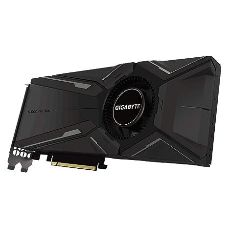 Gigabyte GeForce GV-N208TTURBO-11GC - Tarjeta gráfica (GeForce RTX 2080 Ti, 11 GB, GDDR6, 352 bit, 7680 x 4320 Pixeles, PCI Express x16 3.0)