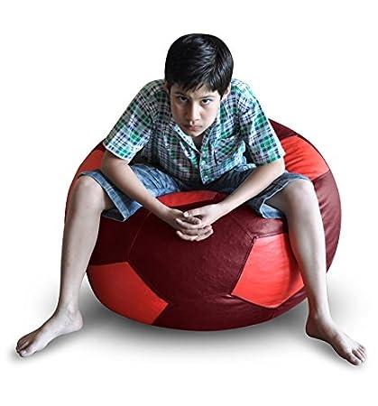 Amazon.com: Estilo homez Puff, diseño de pelota de fútbol ...