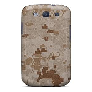 Zheng casePremium Protection Desert Camo Pattern Three Case Cover For Galaxy S3- Retail Packaging