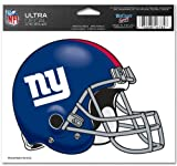 "New York Giants Team Logo 5""x6"" NFL Helmet Decal"