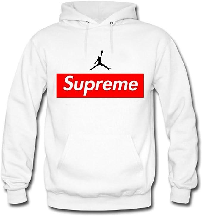 Supreme Air Jordan 2 Men's Hooded Sweatshirts: