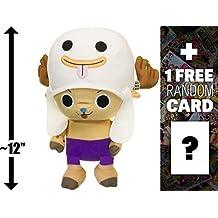 "Happy Halloween Chopper: ~12"" Banpresto Craneking x One Piece Deluxe Plush + 1 FREE Official Japanese One Piece Trading Card Bundle"