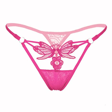 Ropa interior, YanHoo Sexy encaje de mujer cintura baja tanga tanga ropa interior mujeres tangas