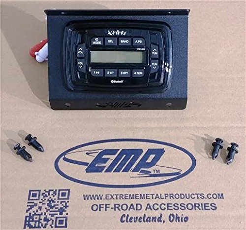 2017 Polaris RZR In-Dash Infinity Bluetooth Stereo By EMP 12880 by EMP (Image #2)