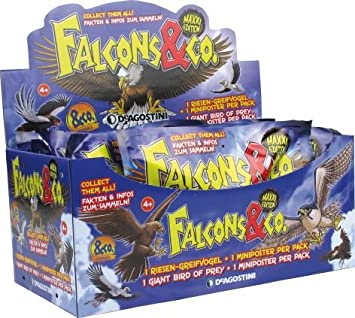 1 Tüte Sammelfiguren Falcons /& Co Maxxi Edition
