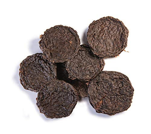 Pet 'n Shape All American Beef Lung Patties Dog Treats – Made and Sourced in The USA, 1 lb
