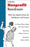 Inside the Nonprofit Boardroom, Charles William Golding, 0295989327