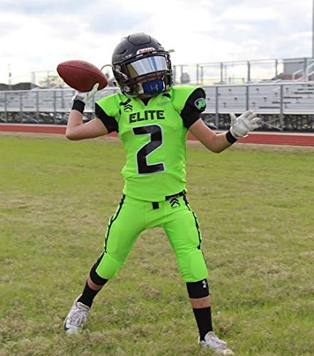 d6c826e8 Amazon.com : EliteTek Football & Lacrosse Eye-Shield Visor (Mirrored Tint)  : Sports & Outdoors