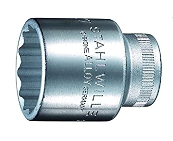 Silver Stahlwille STW5011 1//2-Inch Drive 11 mm Bi-Hexagon Socket
