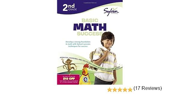 Second Grade Basic Math Success (Sylvan Workbooks) (Sylvan Math ...