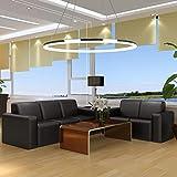 LightInTheBox Pendant Light Modern Design LED Living One Rings Modern Simple Ceiling Light Fixture Color=Warm White