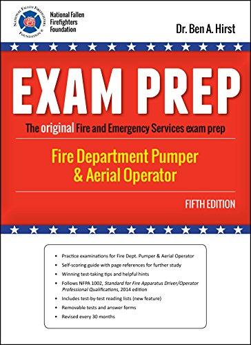 FIRE DEPARTMENT PUMPER  & AERIAL OPERATOR