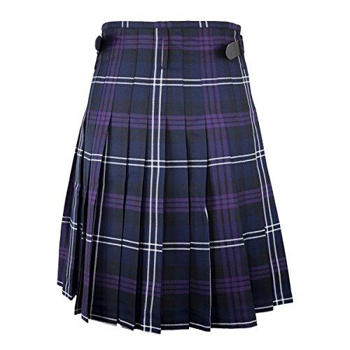 "Best Kilts Men's Scottish 5 Yard Party Kilt Heritage Of Scotland 38""-40"" Purple by Best Kilts (Image #1)"