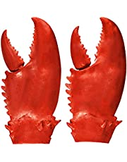 Valentoria Funny Lobster Crab Claws Gloves Weapons Cosplay Amor Halloween Costume Props Novelty DIY Toy for Kids