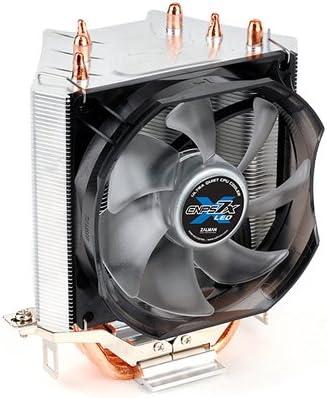 Zalman Ventilador CPU 92MM PWM LED Azul 3 DISIPADORES COMPUESTOS ...
