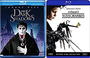 Edward Scissorhands & Dark Shadows (Blu-ray) Johnny Depp Tim Burton Fantasy Action set
