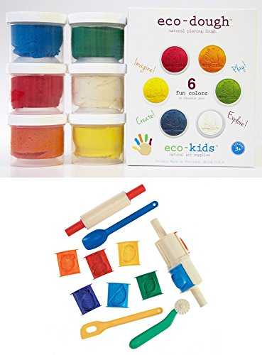 Eco kids Eco dough containers Clay Tool