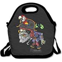 Plants Vs. Zombies Lunch Box Bag For Kids And Adult,lunch Tote Lunch Holder With Adjustable Strap For Men Women Boys Girls,This Design For Portable, Oblique Cross,double Shoulder
