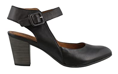 cc5ac926f93 Amazon.com | Tamaris Wortmann Black Womens Ankle Strap Size 36M ...