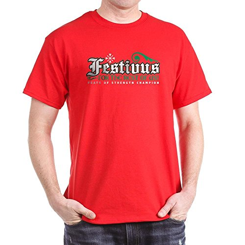 CafePress Festivus T-Shirt Dark T-Shirt - L (Seinfeld Puffy Shirt)