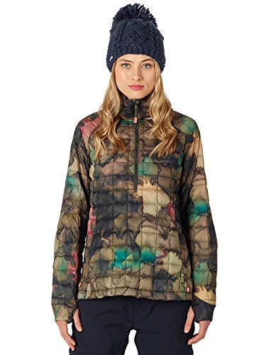 Burton Women's AK Baker Down Lite Anorak Jacket, Tea Camo Size Medium
