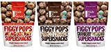 Made In Nature Organic Figgy Pops Supersnacks 3 Flavor Variety Bundle: (1) Cranberry Pistachio, (1) Choco Crunch, and (1) Mangoberry, 4.2 Oz. Ea.