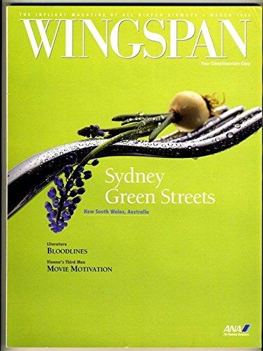 ANA All Nippon Airways Wingspan In Flight Magazine March 1995 Sydney (Vintage Airway Magazine)