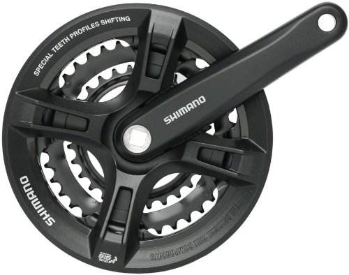 Shimano Altus FC-M311 Bicycle Crankset - 170 x 42-32-22 Square Tapered ()