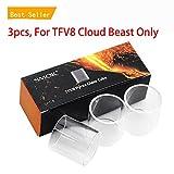 V8 6ml Glass Tube 3pcs