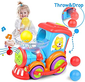 Kidpal Ball Popping Musical Train Toy