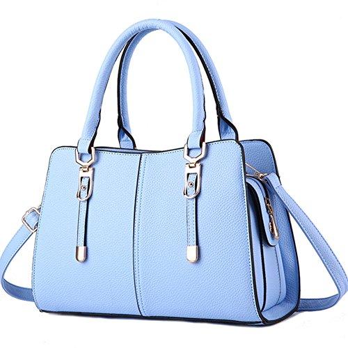 fanhappygo - Bolsa Mujer azul (Sky Blue)