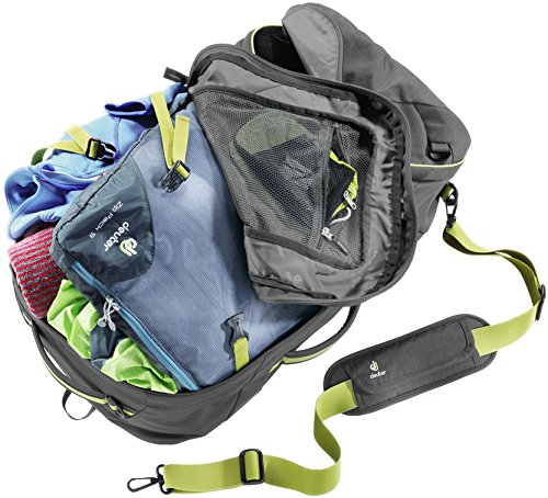 Deuter Transit 40 Carry-On Travel Backpack, Anthracite/Moss by Deuter (Image #1)
